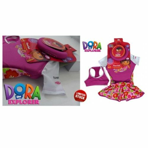 Bikini Bottom Age 3-4 Float Suit Tank Top Dora The Explorer Float Suit