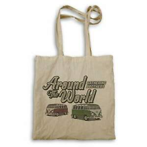 Around The World Gathering Brothers Green And Red Vans Tote bag hh682r