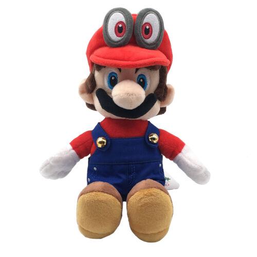 Super Mario Bros Odyssey Plush Stuffed Doll Toy Wedding Form Bowser Koopa Peach