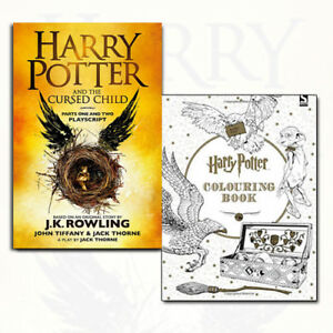 Harry-Potter-The-Cursed-Child-Parts-1-amp-2-Colouring-Book-2-Books-Collection-Set