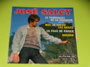 45-tours-EP-JOSE-SALCY-LE-PERROQUET-DE-LA-CHANSON-1963-LANGUETTE