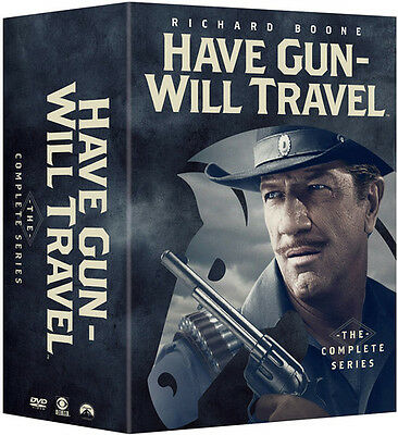 Have Gun Will Travel: The Complete Series - 35 DISC SET (2016, REGION 1 DVD New)