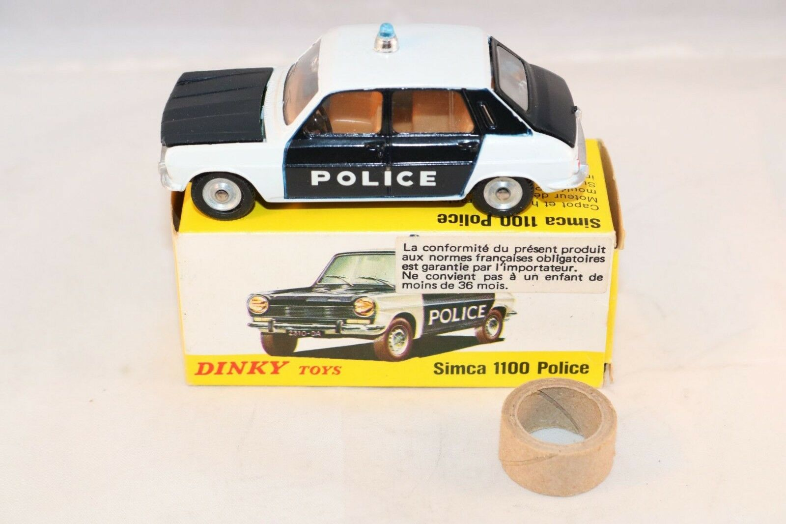 Dinky Toys 1450 Simca 1100 Police Police Police Perfect mint in box difficult to find a beauty 63c6ce