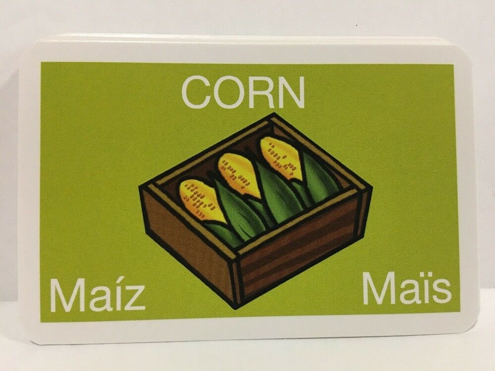 Replacement Pieces All 24 CORN Cards Parts For FARMING GAME KIDS