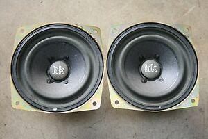 Bmw E36 Z3 M3 318 320 323 325 328 Harman Kardon Hk Front Footwell Speakers Pair Ebay