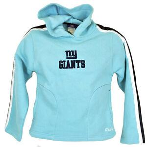 NFL Reebok New York Giants Youth Kids Hooded Fleece Sweater Pullover ... 667e9995e