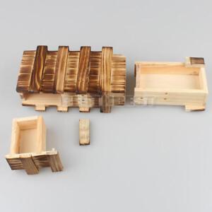 Magische-Box-Gravur-Holz-Kiste-Geheimfach-Versteck-Geocache-Geocaching-WOODEN-IQ