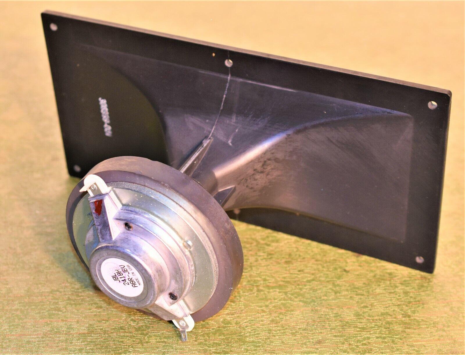 Vintage JBL 2418H A8R JBV Horn Speaker Compression Driver Metal Horn MR 902 2 3