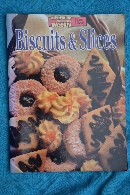 Womens Weekly BISCUITS & SLICES Step By Step ~RARE~ FAMILY/KIDS Original-Best
