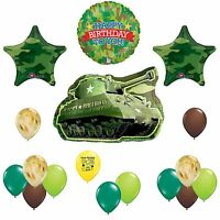 Camouflage Army Happy Birthday Party Balloon Decoration Kit