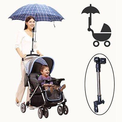 Schirmhalter Sonnenschirm Verstellbarer Kinderwagen Standplatz Spaziergänger