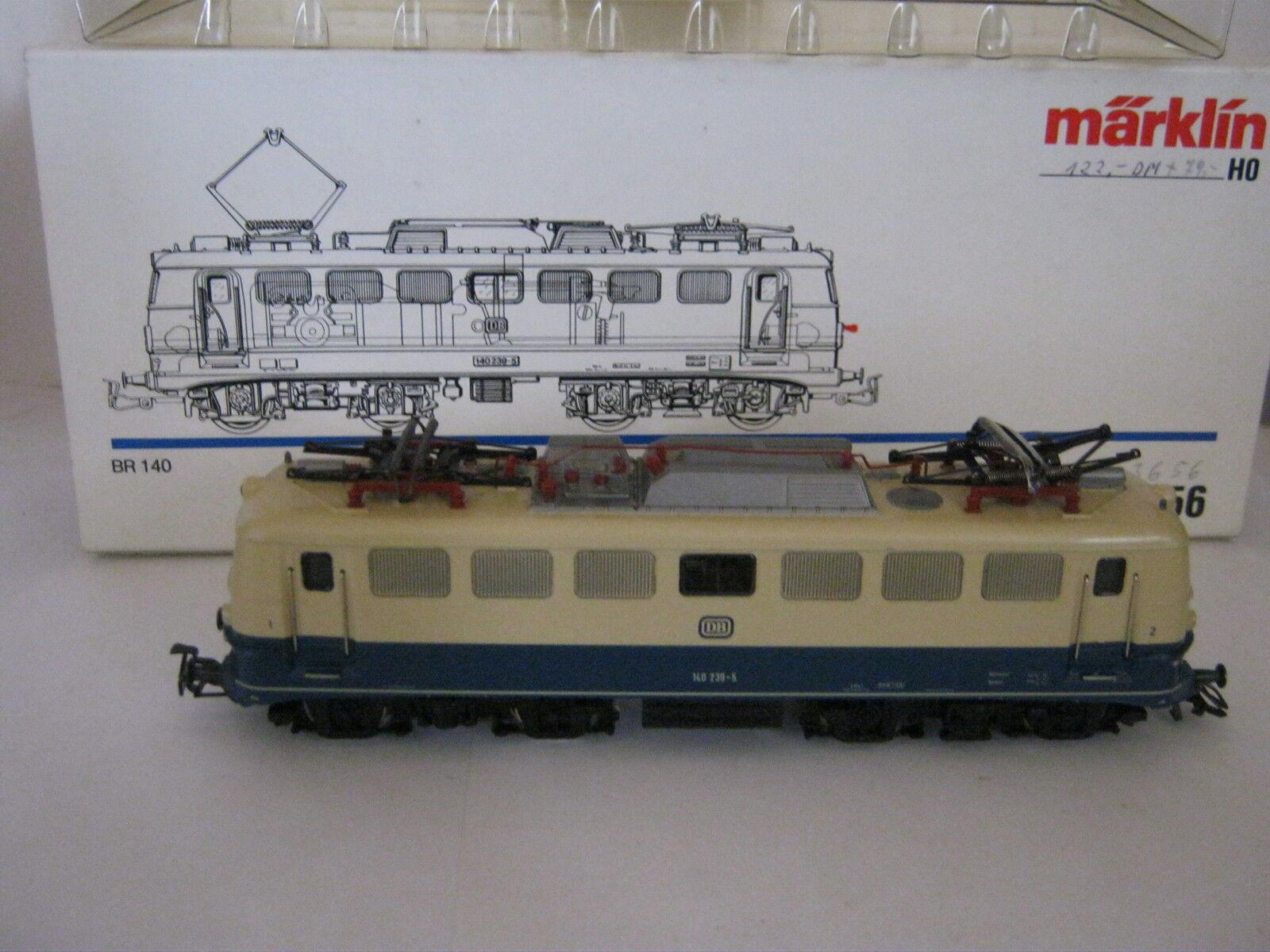 Digital Märklin HO 3156 elettro-Lok kbtrnr 140 239-5 DB (rg ax 72s1)