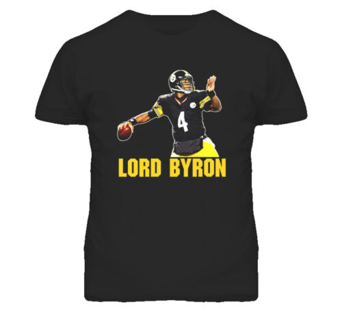 Football Pittsburgh Lord Byron Leftwich T Shirt