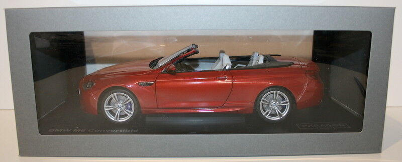 Paragon 1/18 Scale Diecast PA-97063 - BMW M6 Cabrio - Sakhir Naranja