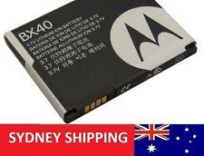 Battery BX40 Motorola BX40 V8 Razr2 V9 V9x U8 U9 Z9 -1 YEAR WARRANTY
