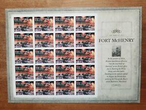 US-2014-Stamp-4921-Fort-McHenry-War-of-1812-Postage-Sheet