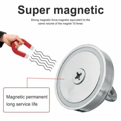 Neodym Magnet 50KG bis 500KG Suchmagnet Angelmagnet Bergemagnet Seil Starkmagnet