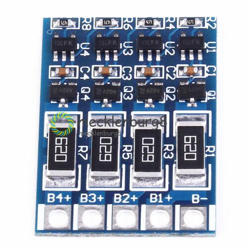 4S 4.2V Lithium Battery Charge Balance 14.4V 16.8V 68mA 18650 Protection Board S