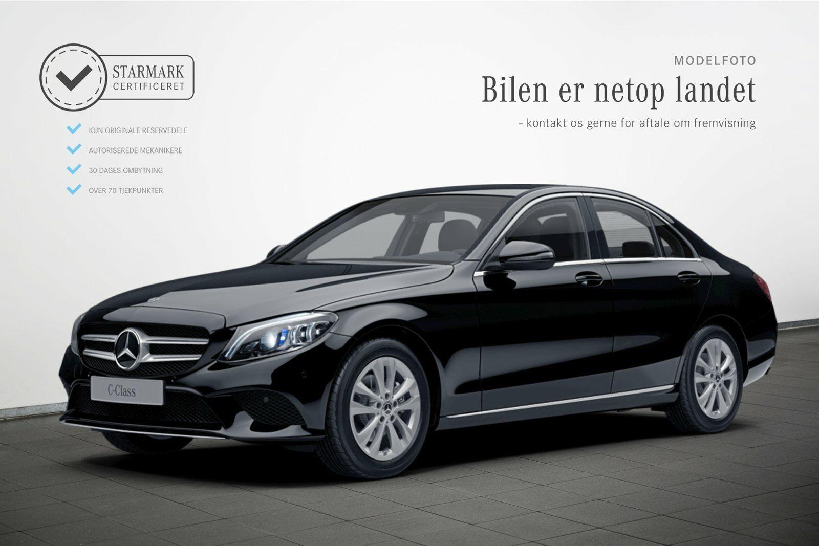 Mercedes C220 d 2,0 Avantgarde aut. 4d - 469.900 kr.