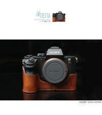 Ciesta Leather Half Case Sony A7II Giano Brown