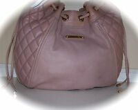 NEW JUICY COUTURE PACIFIC AVE QUILTED LEATHER CRESCENT HOBO HANDBAG PURSE $378 !