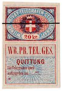 I-B-Austria-Telegraphs-Vienna-Private-Telegram-20kr