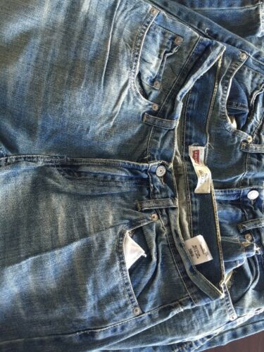 Levi/'s 505 Regular Youth Denim Jeans Size 18 Reg W29 L29 Cotton
