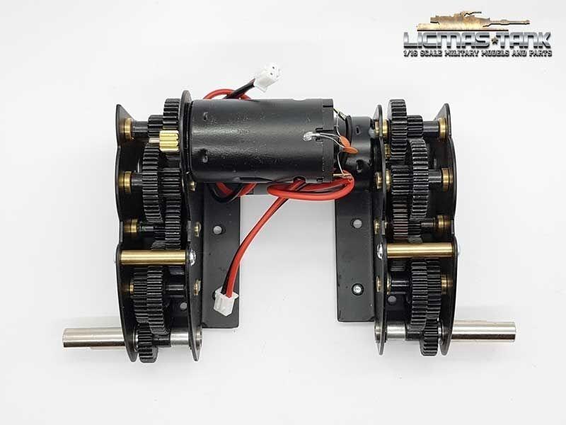 bellissima Nuovo Acciaio Gear 4 1 con 390 Motori Tiger autoro autoro autoro Armato 3818,Geruomo Panther  prezzi più bassi