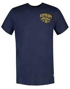 Superdry-Orange-Label-Pastel-Crew-Neck-Logo-T-shirt-Cotton-Tee-Navy-Blue