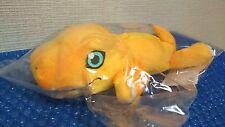 Digimon Adventure tri. Agumon Plush toy Fluffy Pouch polyester Japan NEW