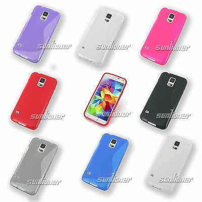 Gel TPU Case Skin Cover For Samsung Galaxy S5 / S5 Neo