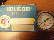 HELICOID PRESSURE GAUGE E3P4H7A000000 330 SSFM 2BK 0/2000 PSI