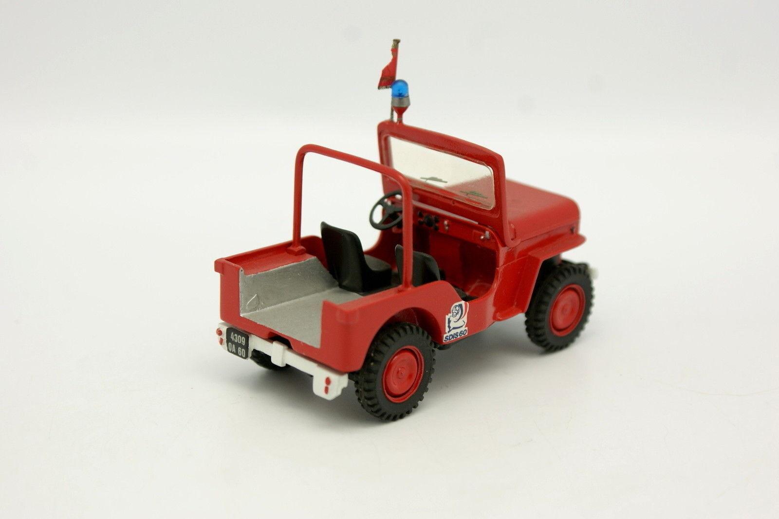 Kit Monté Métal 1/43 Hotchkiss Hotchkiss Hotchkiss Jeep JH 102 Pompiers 60 | Commandes Sont Les Bienvenues  41b2c6
