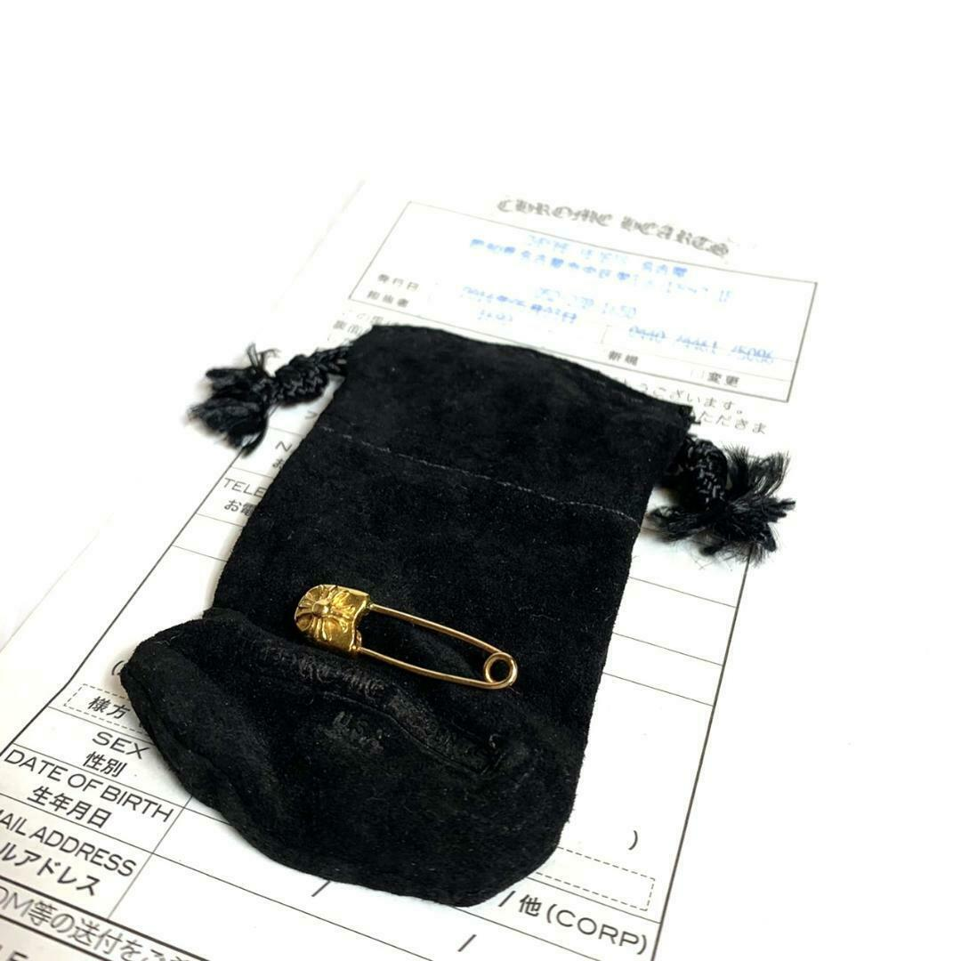 Chrome Hearts Authentic 22K safety pin 1 Accessories