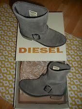DIESEL - BOOTS BOTTINE FEMME cuir DAIM 38/39 BLYDGE
