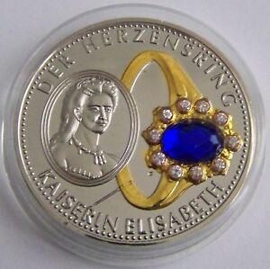 Kaiserin Elisabeth österreich Herzring Farbstein Ring