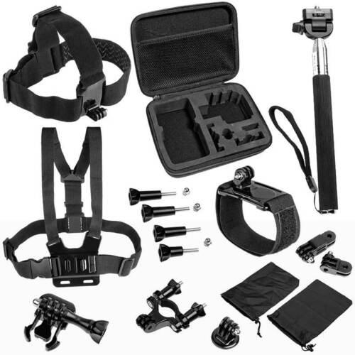 Cuatro accesorios set f Rollei Actioncam 400