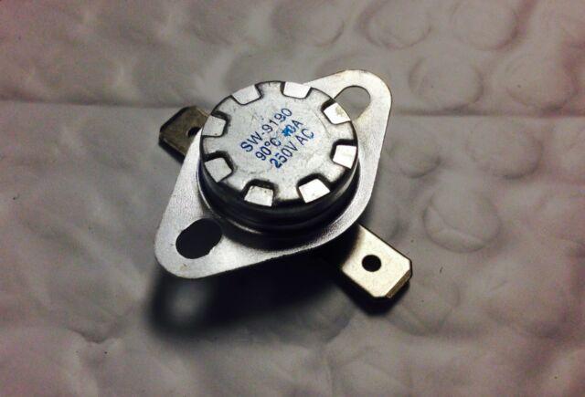 2pcs KSD301 80°C Temperature Switch Thermostat 176°F Degree Celsius N.C