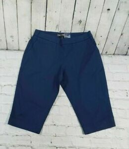 NEW-Tommy-Bahama-Sail-Away-Boardwalk-Navy-Blue-Shorts-Women-039-s-Size-2