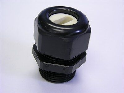 """2 Hummel AG 1.587.3400.71 Black 3//4/""""NPT Industrial Cable Gland for 14x6mm Cable"""