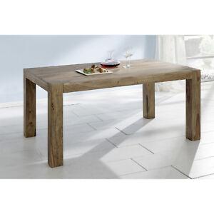 Möbel landhausstil gebraucht  Esstisch Yoga Big Sheesham massiv natur Tisch 160x100 Landhausstil ...