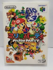 Details about Nintendo 64 Mario Party 1 Boxed Set Japan ver NTSC-J N64 Good  Condition