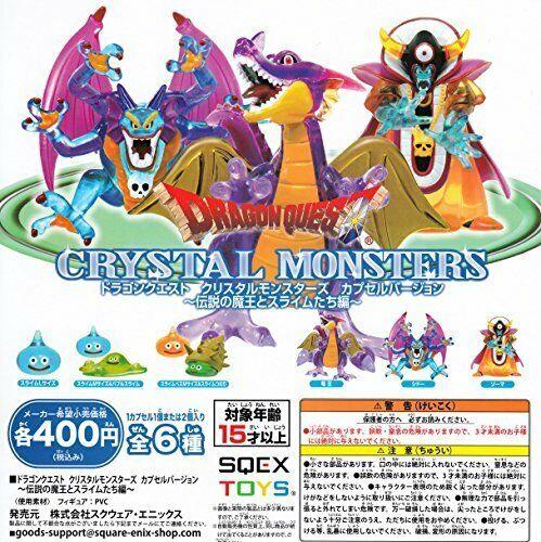 Dragon Quest Cristal monstruos cápsula ver Leyenda del Diablo y la de Japón