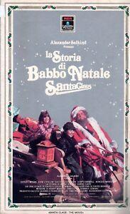 La Storia Babbo Natale.Dettagli Su La Storia Di Babbo Natale 1985 Vhs 1a Ed Alexander Salhind Dudley Moore