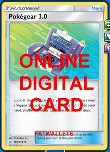 4x-PokeGear-3-0-182-214-Unbroken-Anleihen-Pokemon-TCG-Online-Digital-Karte