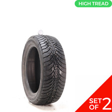 Set Of 2 Used 22550r17 Goodyear Ultra Grip Ice Wrt 94t 10 10532 Fits 22550r17