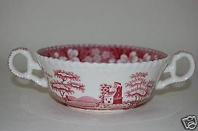 1 von 1 - Suppentasse Tower Pink Spode Copeland