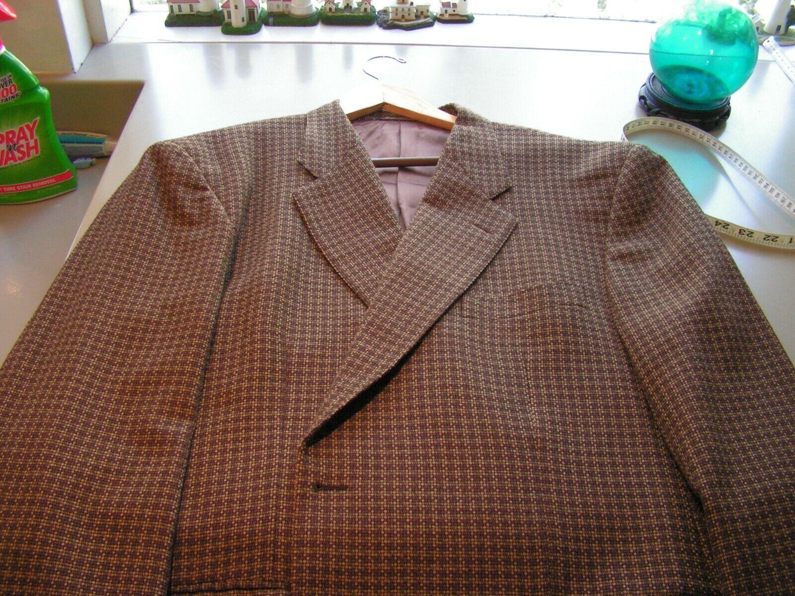 Zanella Men's Blazer Sport Coat US size 48