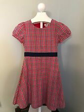 Girl's 14 Vineyard Vines Hattertown Red Plaid Dress - 2 Available Twins NWTS $75