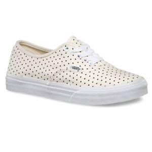 Vans-Authentic-Slim-Micro-Hearts-Classic-White-Black-WOMEN-039-S-9
